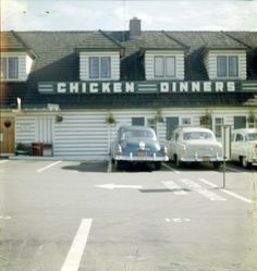 .The White Spot Restaurant at the south end of Granville street. circa the '50's