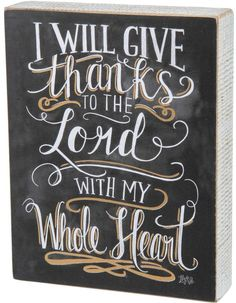 Primitives by Kathy Give Thanks Block #thanksgiving #thankful #grateful #fall
