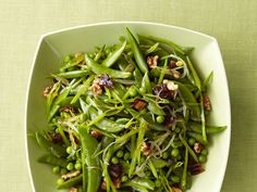 Spring Peas With Dates and Walnuts Recipe : Food Network Kitchen : Food Network - FoodNetwork.com