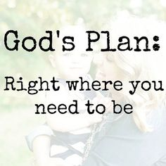 {Link in profile} Just a little reminder about how we are right where God wants us. Right where He has planned, even if it isn't what we want to be...