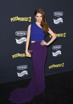Anna Kendrick in a Stella McCartney cutout dress