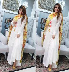 whatsapp on to order this. Pakistani Dresses, Indian Dresses, Indian Outfits, Stylish Dresses, Simple Dresses, Fashion Dresses, Ethnic Fashion, Indian Fashion, Women's Fashion