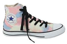 """Womenswear brand X-Girl have teamed up with Converse on a design for the iconic Chuck Taylor All Star Hi's as part of their """"Surf & Skate"""" collection Purple Converse, Converse Style, Converse Shoes, Converse Chuck Taylor All Star, Converse All Star, Chuck Taylor Sneakers, Girls Sneakers, High Top Sneakers, Sneaker Magazine"""