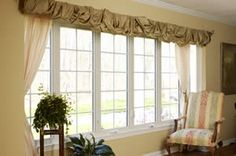 Clean & Trimmed Casement Windows in a Family Room