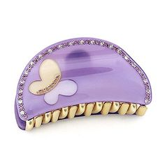 Rena Chris Cute BF Hair Claw - Blueviolet $32.00 from Cabbeet. http://www.cabbeet.com/hair-accessories/claws/rena-chris-cute-bf-hair-claw-blueviolet