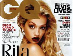 GQ cover – Rita Ora