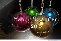 Globes happy new year 2015