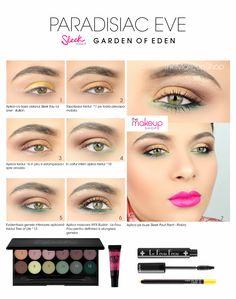 Paleta Farduri Sleek Garden of Eden doar pe http://www.makeupshop.ro