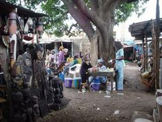 MBOUR marché artisanal