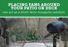 Mosquito-free backyards require long-term pest solutions.. find out your options & which one is best for you & your family!