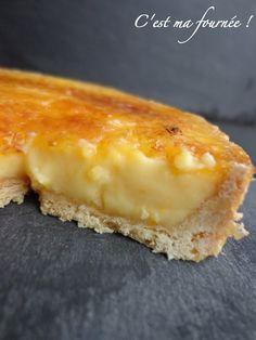 tarte à l'orange caramélisée de Christophe Felder...