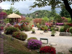 The Garden of Morning Calm in Gapyeong, Korea
