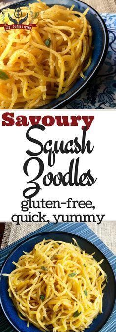 Butternut Squash Noodles (Zoodles?) https://justplainmarie.ca/butternut-squash-noodles-zoodles/?utm_campaign=coschedule&utm_source=pinterest&utm_medium=Just%20Plain%20Marie%20-%20Sustainable%2C%20Self%20Reliant%20Living&utm_content=Butternut%20Squash%20Noodles%20%28Zoodles%3F%29