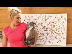 Dog Finger Painting - Jenna Marbles This actually turned out really cute hahahah