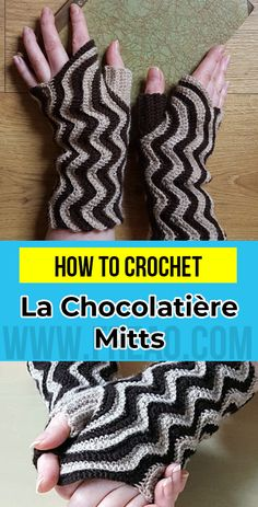 7 Of The Best Crochet Patterns You Can Get Ravelry Crochet Mittens Pattern, C2c Crochet, Crochet World, Learn To Crochet, Crochet Crafts, Crochet Hooks, Crochet Projects, Crochet Patterns, Crochet Tutorials