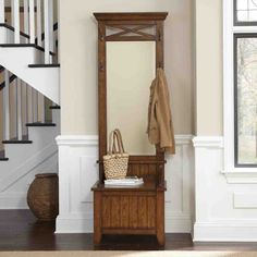 handsome narrow hall bench tags hall tree bench storage bench with regard to proportions 3200 x 3200 auf Narrow Hall Tree Storage Bench Hallway Tree Bench, Hall Tree Storage Bench, Entryway Hall Tree, Entryway Shelf, Rustic Entryway, Entryway Decor, Narrow Entryway, Hall Bench, Hallway Ideas