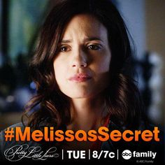 "S5 Ep7 ""The Silence of E. Lamb"" - What does #MelissasSecret have to do with love? #PLL"