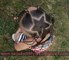 my daughter will have hair like that on the 4th of July! :)