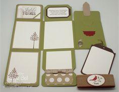 Specialty Folded Card - Open