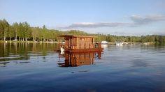 Sauna on Lohja Lake. Photo by Petra