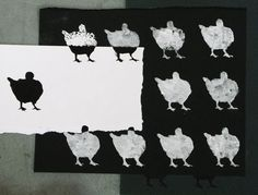 Pigeon Stencil