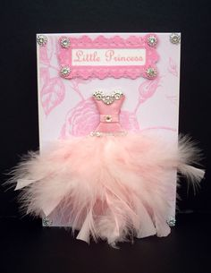 Little Pink Princess Personalized Dress Card