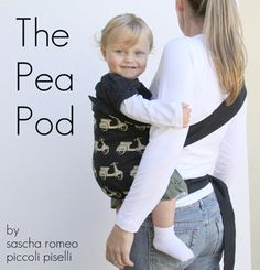 The Pea Pod Hip Carrier Tutorial + The Red Pistachio Giveaway | Sew Mama Sew | Outstanding sewing, quilting, and needlework tutorials since 2005.