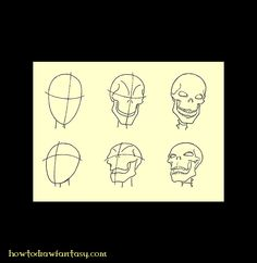 how-to-draw-a-death-head.jpg 700×720 pixels