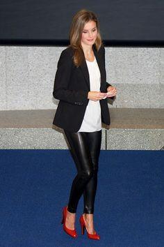 Copie os looks de uma rainha: Letizia da Espanha