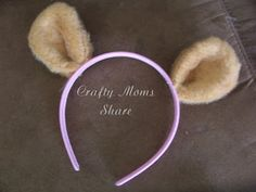 Crafty Moms Share: Teddy Bear Ears (Teddy Bear Picnic Preparation)