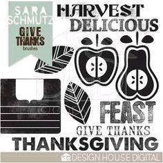 Thanksgiving scrapbooking freebie