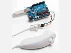 20 Projects To Celebrate Arduino Day Wii Nunchuck Mouse: Bring console-style motion control to your PC.