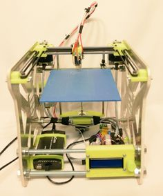 Mark34 open source 3D printer kit from Poland. #3DPrinters
