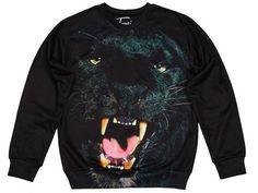 """Fancy - Fusion Printed Sweatshirt """"Black Panther"""""""