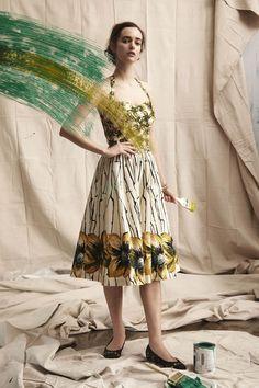 Burgeoning Hypericum Dress