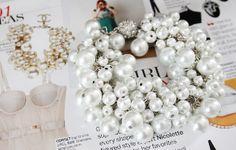 DIY Chanel Inspired Pearl Bracelet - Dream a Little Bigger