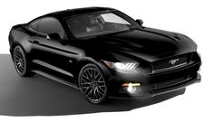 2015 Ford Mustang in black