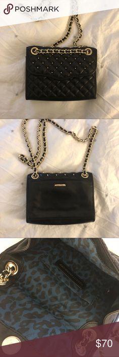 2c34dfda88 Rebecca Minkoff studded bag Small Rebecca Minkoff black and gold studded bag  Rebecca Minkoff Bags Shoulder