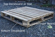 How to dismantle pallets to obtain free carpentry wood.