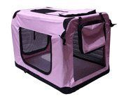 36 Pink Pet House Soft Crate Carrie by BestPet -- Click image for more details.-It is an affiliate link to Amazon. #DogCarrierTravel