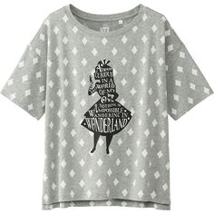 WOMEN DISNEY (AIW) SHORT SLEEVE GRAPHIC T-SHIRT | UNIQLO- would be so cute for travels, especially our next Disney vacay :)