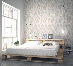 Idei cu stil pentru dormitor: amenajarea unui perete accent- Inspiratie in amenajarea casei - www.povesteacasei.ro