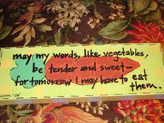 Image result for image of let my words be tender