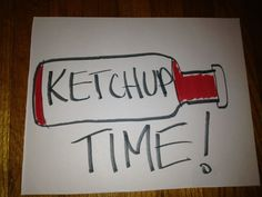 The ketchup bottle needs to keep flowing the rest of the season. Go Ducks!