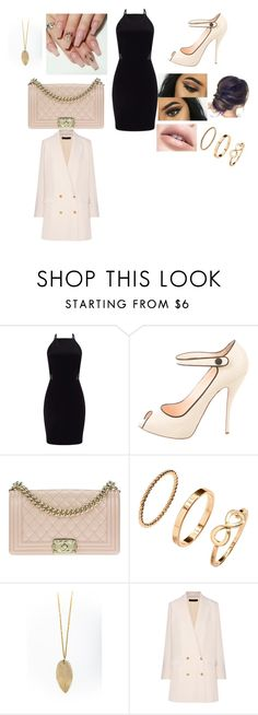 """Miss"" by madison-x-h ❤ liked on Polyvore featuring Miss Selfridge, Christian Louboutin, Chanel and The Row"