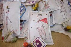 γιαουρτοπόταμος: Υφασμάτινες ζωγραφιστές χειροποίητες μπομπονιέρες Sewing For Kids, Diaper Bag, Blog, Diaper Bags, Mothers Bag, Blogging
