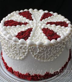 The most moist Red Velvet Cake recipe you will ever try! Combined with swiss butter and cream cheese icing together makes this cake seriously the best! ~ Gretchen's Bakery