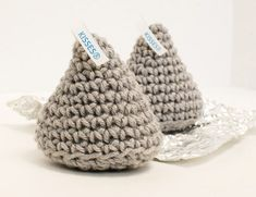 Crochet Hershey Kiss Pattern