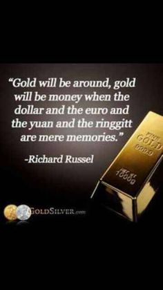 While fiat currency historically has ALWAYS crashed.no exceptions.Gold has always maintained its value. Paper money always crashes.Gold withstands the test of time. My Son Quotes, I Love Gold, Digital Coin, Home Based Business Opportunities, Financial Statement, Gold Bullion, Financial Institutions, Earn Money Online, Precious Metals
