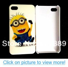 New Despicable Me minions hard case cover for iphone 4 4s cell phone cases covers to iphone4 (style-2)
